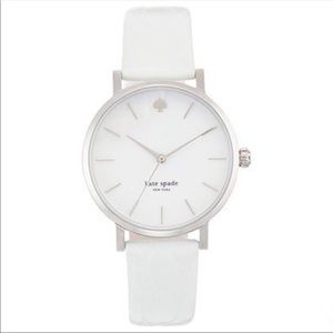Kate Spade white leather & Mother of Pearl watch